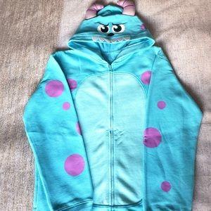 Disney Parks Monsters Inc Sulley Zip Hoodie XL